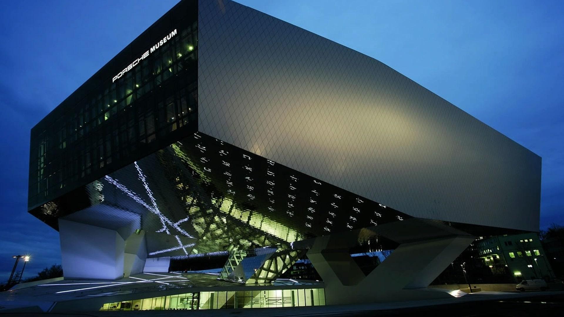 موزه پورشه در اشتوتگارت آلمان